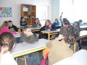 Collège - Salle de classe - 1